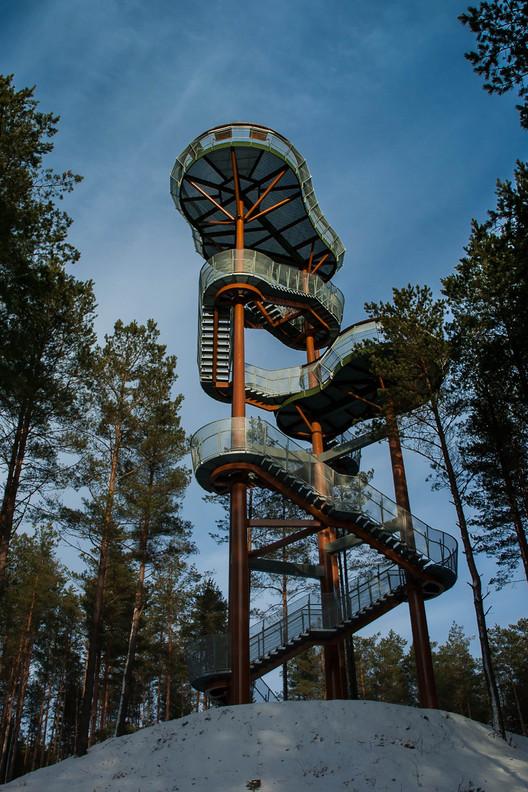 Torre de Observación  / Arvydas Gudelis, Cortesía de Arvydas Gudelis