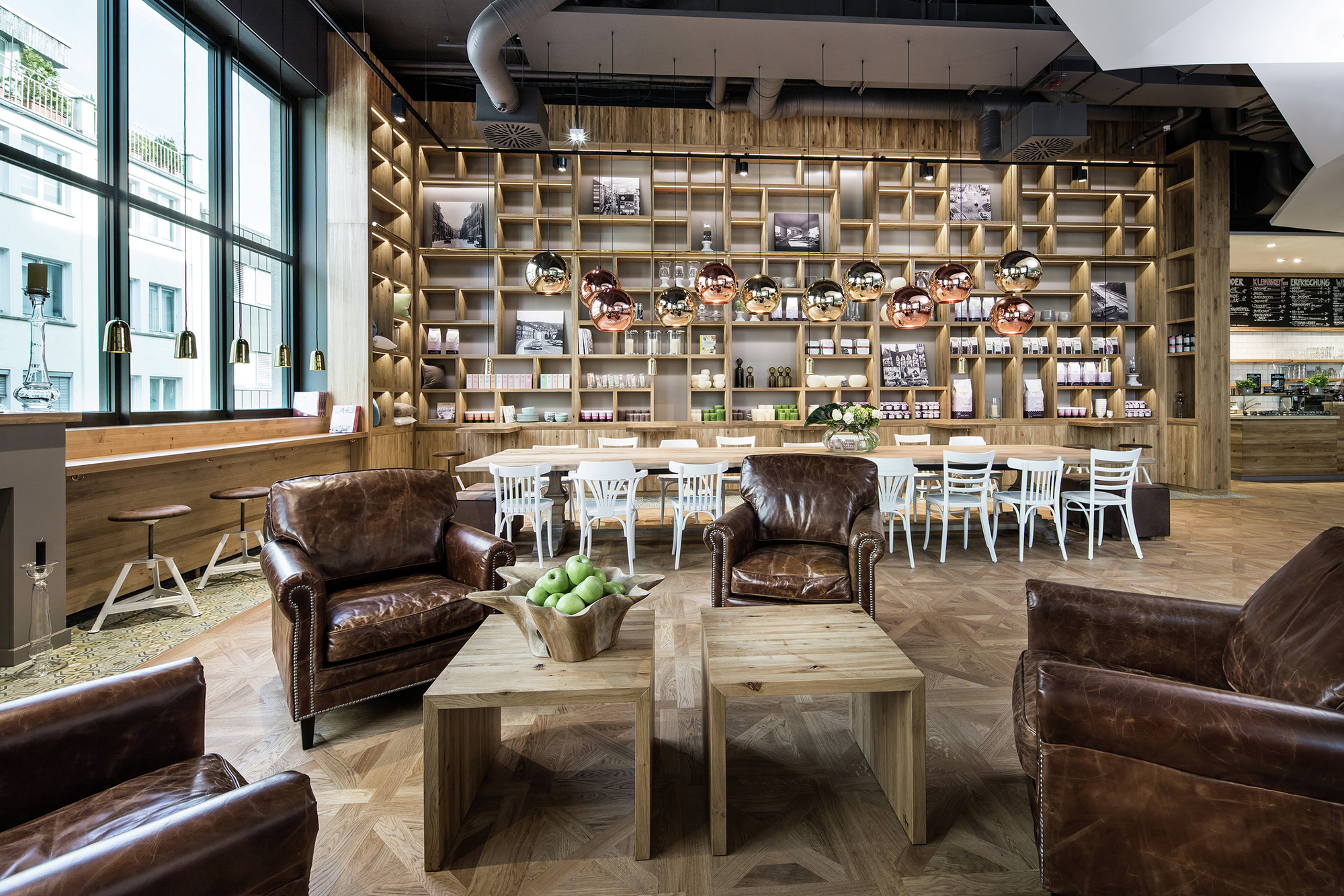 Gallery of pano brot kaffee dia dittel architekten 1 for Interior design gmbh