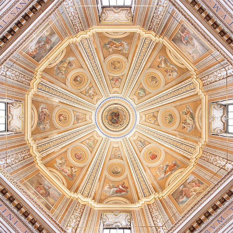 Santa Maria di Loreto, 1507-1582, Rome. Architecture: Antonio da Sangallo il Giovane, Giacomo del Duca; frescoes: Cesare Mariani. Image © 2015 Jakob Straub, www.jakobstraub.com