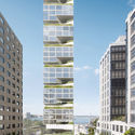 Garden Spiral Tower. Image Courtesy of O'Neill McVoy Architects