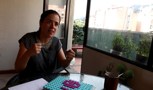 Ana López Ortego. Image © Nicolás Valencia