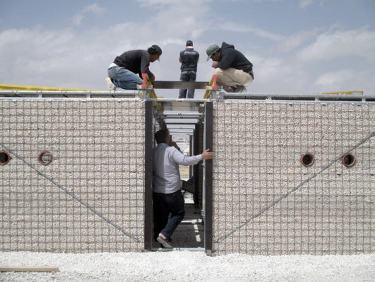 Campo de Refugiados de Za'atari, Jordania. Image Cortesía de Pilosio Building Peace
