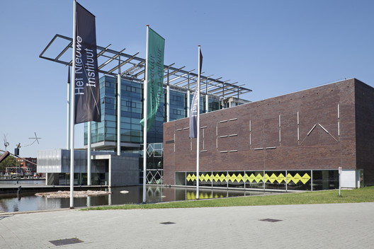 The New Institute (formerly the NAi). Image Courtesy of Het Nieuwe Instituut
