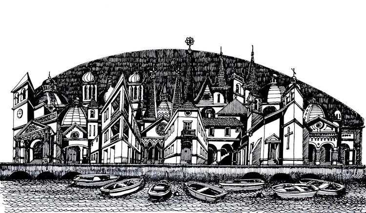 Aldea Marina. Image Cortesía de Juan Luis López