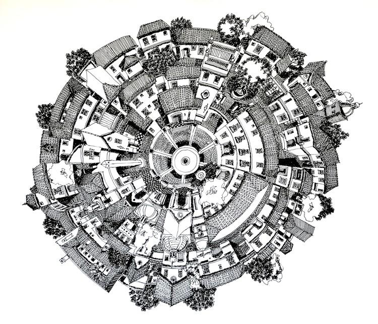 La Aldea Circular. Image Cortesía de Juan Luis López
