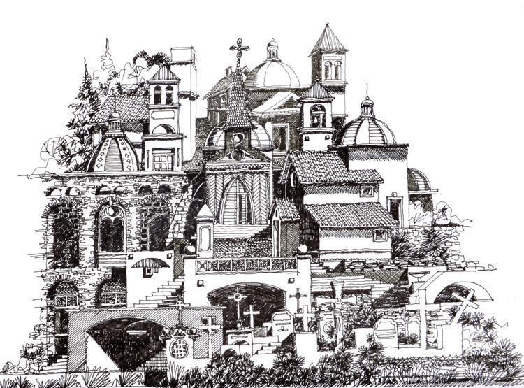 La Aldea de la Colina. Image Cortesía de Juan Luis López