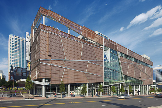 Harvey B Gantt Center for African-American Arts + Culture / The Freelon Group Architects. Image © Mark Herboth