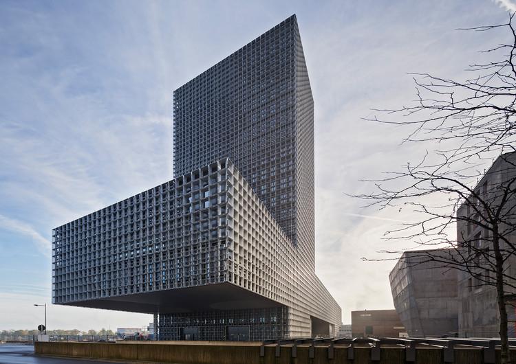 La Maison du Savoir - Universidad de Luxemburgo / be baumschlager eberle, © Eduard Hueber