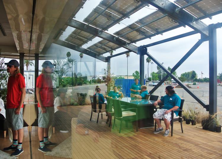 """Terraza de """"Stile"""", el proyecto de la Universidad de West Virginia. Image © Addi Gutiérrez"""