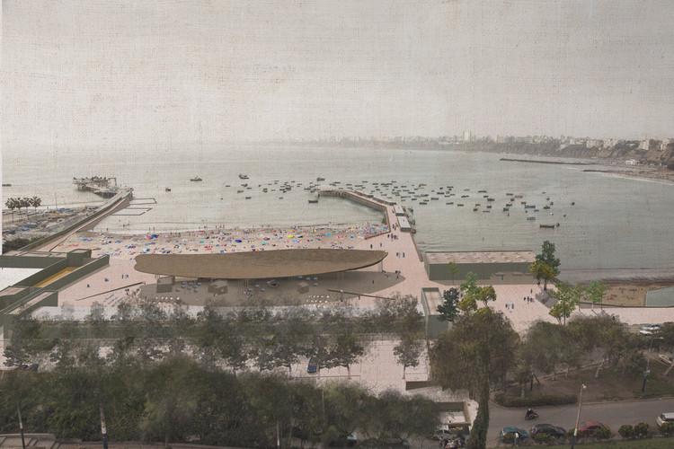 Ghezzi Novak + La Fábrica, tercer lugar en concurso de recuperación de la playa Pescadores en Lima, Cortesía de La Fábrica + Ghezzi Novak