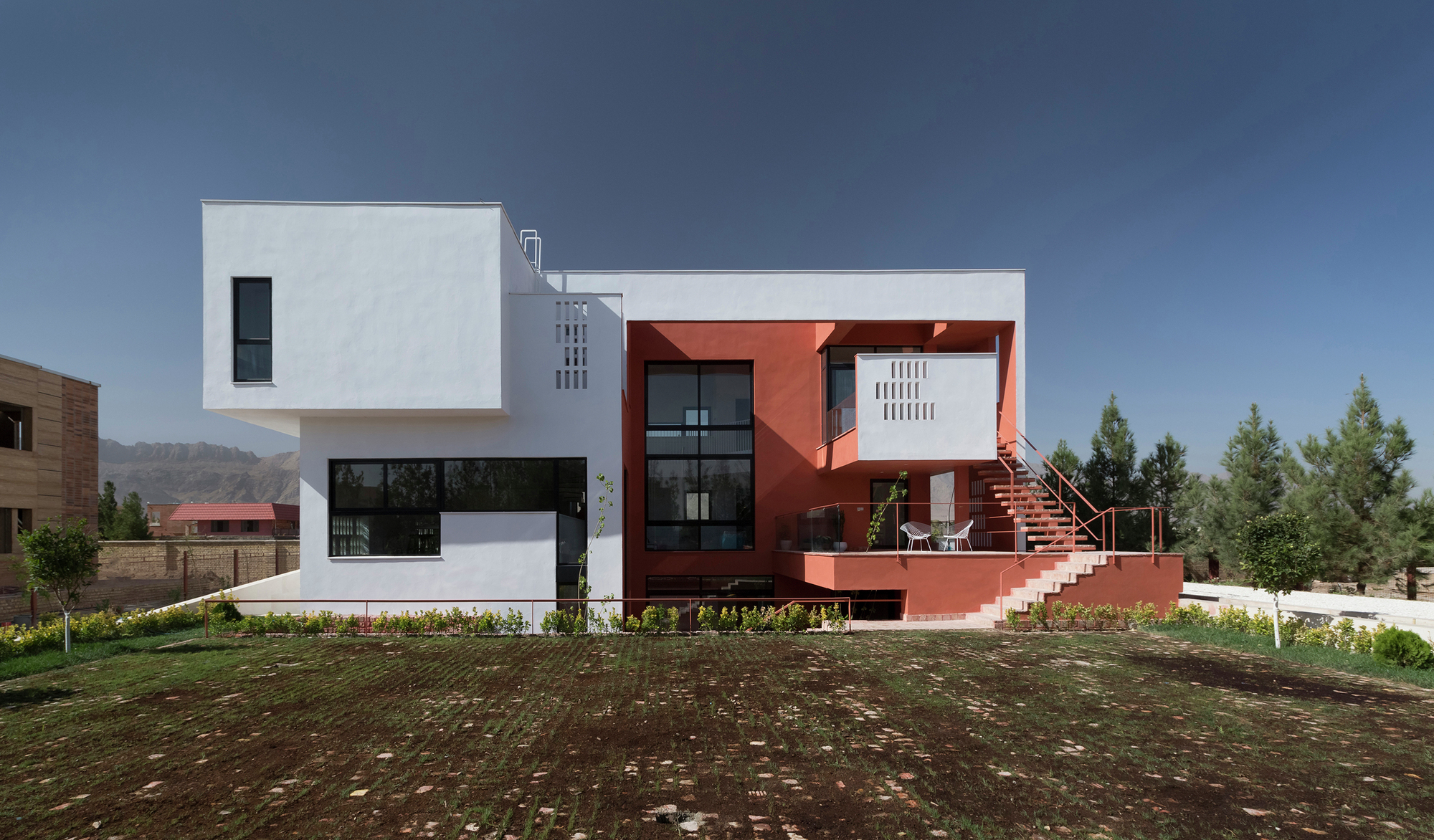 villa for anna and saeed logical process in architectural design parham taghioff architectural design office