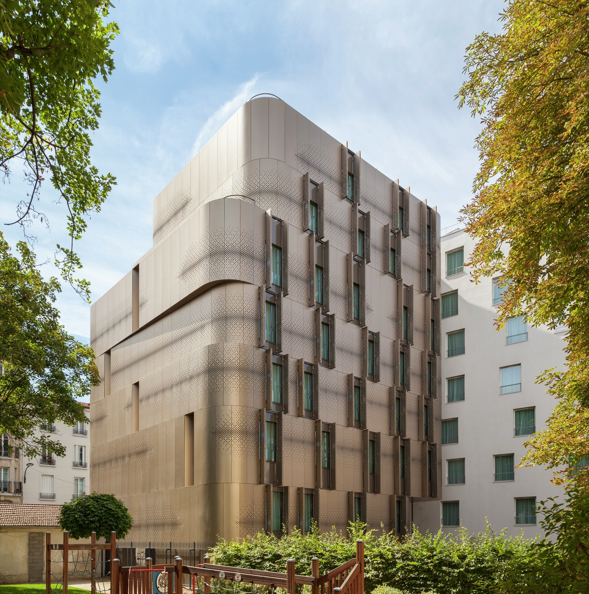 Gallery Of Student Housing And Nursery For Paris Vib
