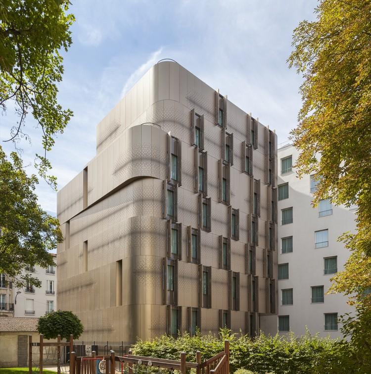 Vivienda para estudiantes y guardería para Paris / VIB Architecture, © Cyrille Lallement