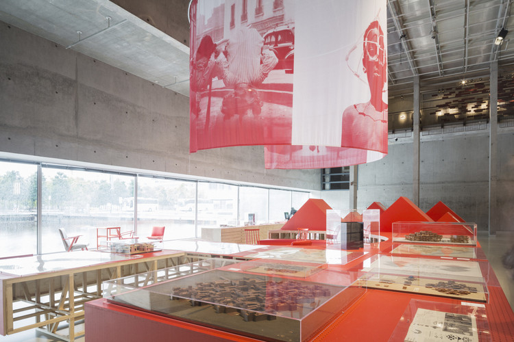 Conference: 'Research on Display: The Architecture Exhibition as Model for Knowledge Production', Research on display. Image via Het Nieuwe Instituut