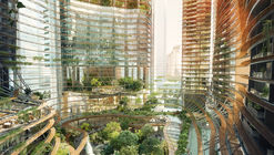 Gustafson Porter and Ingenhoven Unveil Mountainous Development Rising in Singapore