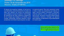 Primer Encuentro de Arquitectos de Servicios Públicos / Colegio de Arquitectos de Chile