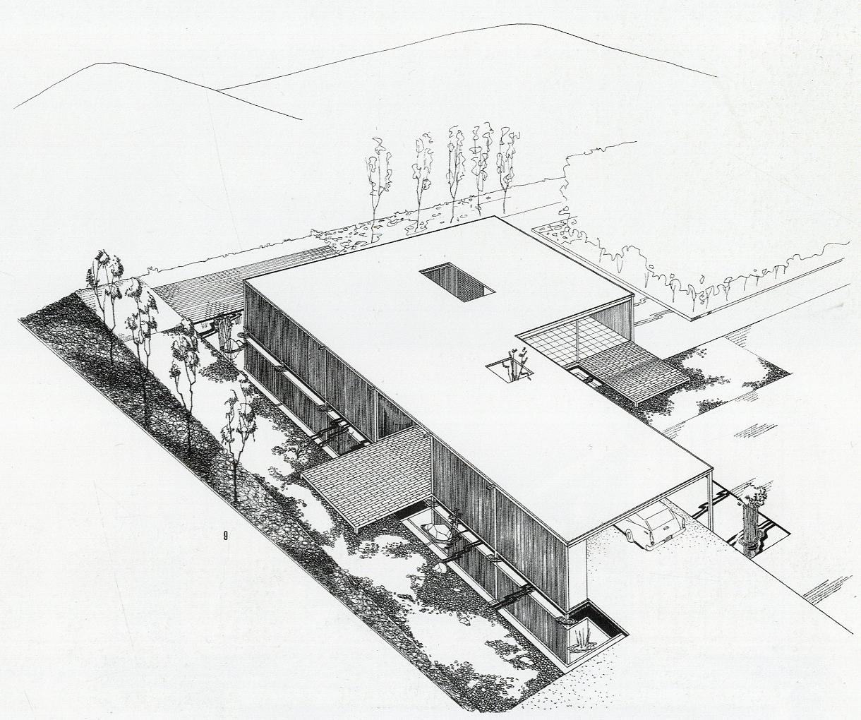 Stahl House Floor Plan Gallery Of A Virtual Look Into Pierre Koenig S Case Study