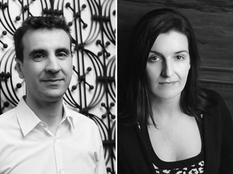 Directores artísticos Joseph Grima & Sarah Herda. Image Cortesía de Chicago Architecture Biennial