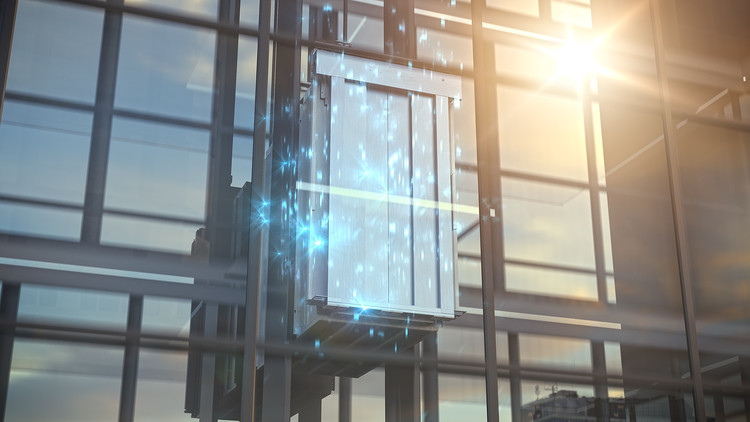 ThyssenKrupp and Microsoft's MAX Elevator Will Save Users Years of Waiting, © ThyssenKrupp