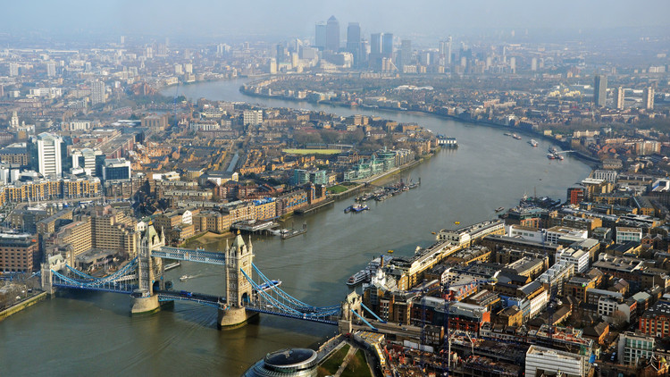 Monocle 24 Report from the CityLab Summit, River Thames, London. Image Courtesy of Monocle 24