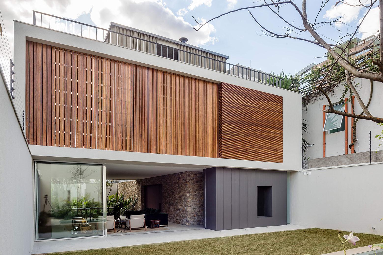 casa lara felipe hess archdaily brasil. Black Bedroom Furniture Sets. Home Design Ideas