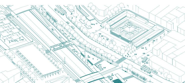 SHIFT Arquitectos y Asociados, finalistas del concurso de nueva Explanada de los Mercados en Santiago, Cortesía de SHIFT Arquitectos y Asociados