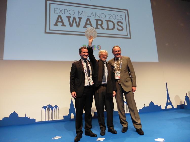 Premiación oficial en Expo Milán 2015. Image © Cristián Undurraga