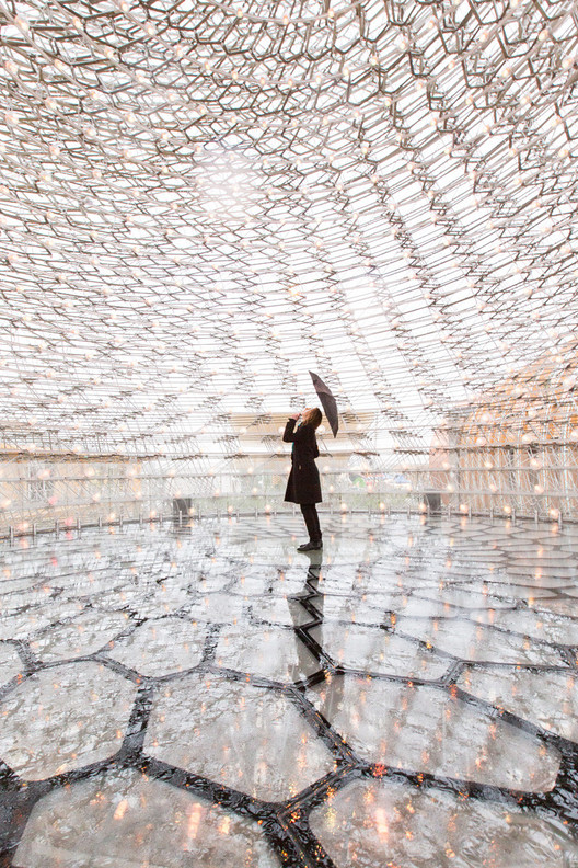"UK and Wolfgang Buttress Win ""Best Pavilion"" at Milan Expo 2015, UK Pavilion - Milan Expo 2015 / Wolfgang Buttress. Image © Laurian Ghinitoiu"