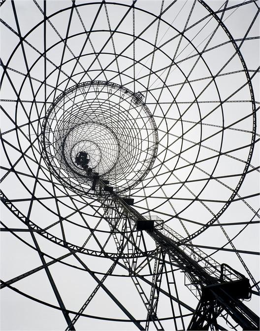 Richard Pare, Shabolovka Radio Tower, Moscú, Rusia. Vladimir Shukhov, 1922. Imagen © Richard Pare 2007