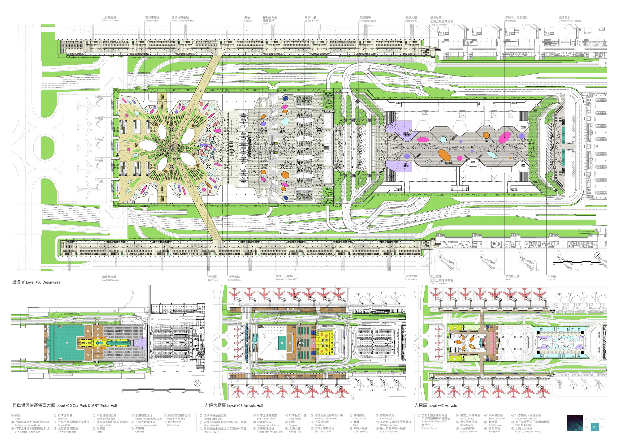 gallery of rshp wins competition to expand taiwan s hong kong international airport