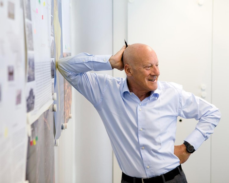 Norman Foster on Urbanism, Emerging Economies and Airport Design, Lord Foster. Image Courtesy of Foster + Partners