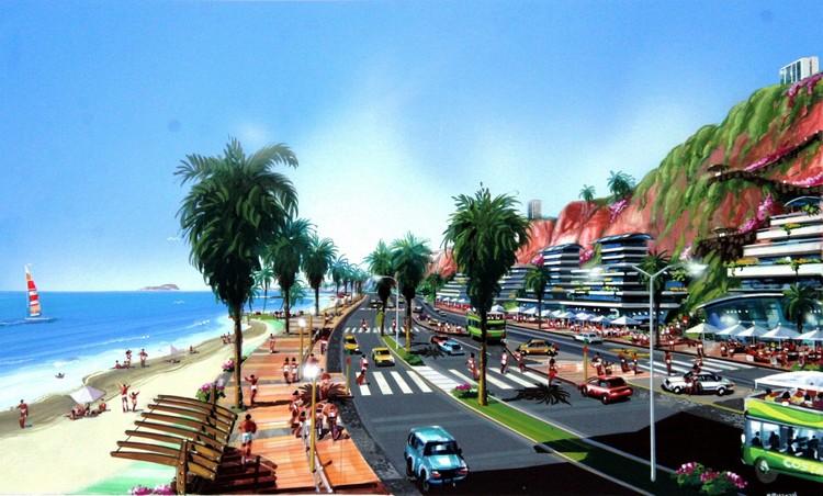 Plan Maestro Costa Verde 2006. Image vía URVIA