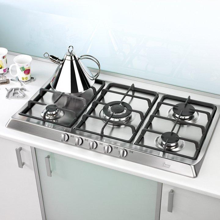 materiales cocinas encimera a gas image cortesa de teka