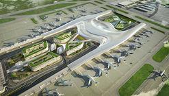 UNStudio propõe projeto centrado no usuário para o Taiwan Taoyuan International Airport