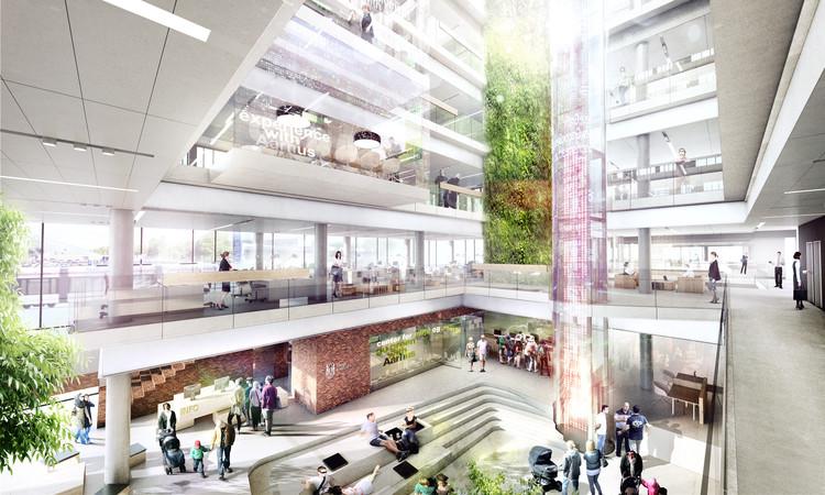 Vista interior. Imagen cortesía de Arkitema Architects