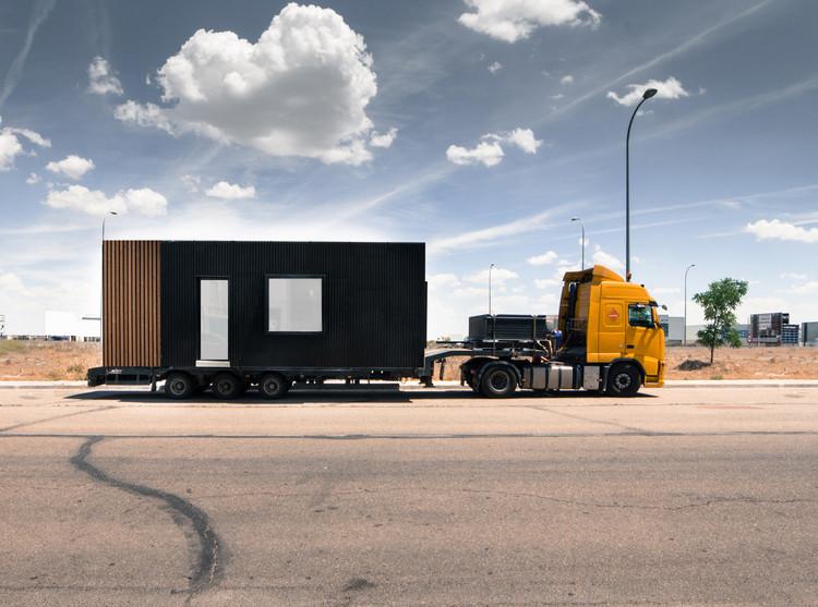 Casa #bh01, por [baragaño]: cómo fabricar una vivienda en 80 días, © Verónica Carreño