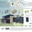Primeiro Lugar - Prancha 1. Image Cortesia de  IX Bienal José Miguel Aroztegui