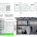 Primeiro Lugar - Prancha 3. Image Cortesia de  IX Bienal José Miguel Aroztegui