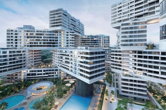 The Interlace / OMA/Buro Ole Sheeren in Singapore . Cortesia de WAF.