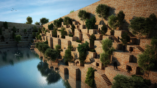 Reservoir / Sanjay Puri Architects in Rajasthan, India. Cortesia de WAF.