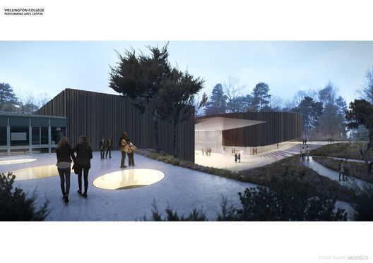 Performing Arts Centre / Studio Seilern Architects in the UK.  Cortesia de WAF.