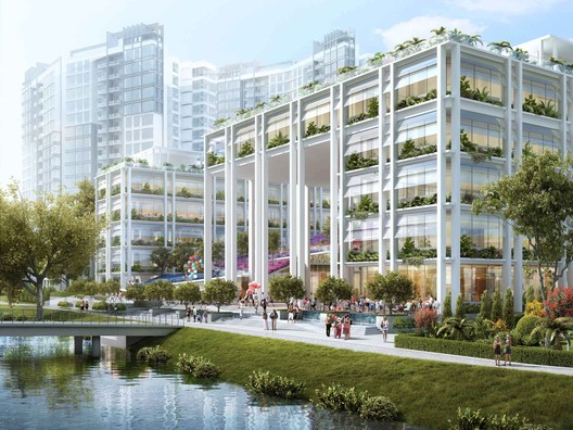 Gardens at Punggol / Serie + Multiply Consultants in Singapore. Cortesia de WAF.
