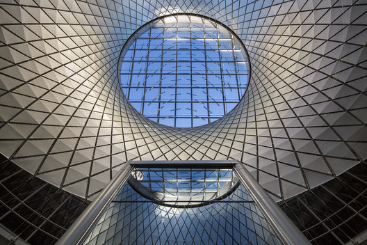 Fulton Center / Grimshaw / Arup / James Carpenter / HDR / Page Ayres Cowley in USA. Cortesia de WAF.