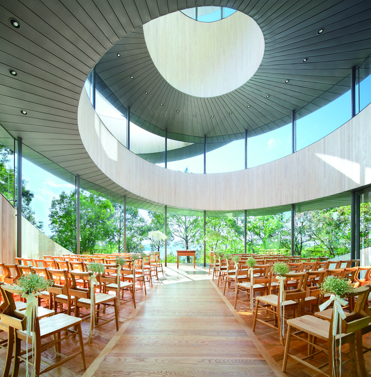 Hospitality Building of the Year: Ribbon Chapel / Hiroshi Nakamura & NAP Co. Ltd. Image Courtesy of LEAF International
