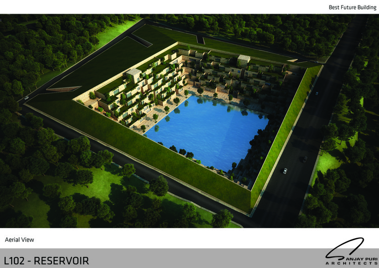Best Future Building of the Year—Drawing Board: Reservoir / Sanjay Puri Architects. Image Courtesy of LEAF International