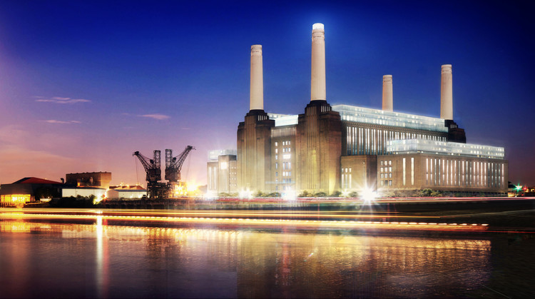 Developer of the Year: Battersea Power Station / Battersea Power Station. Image Courtesy of LEAF International