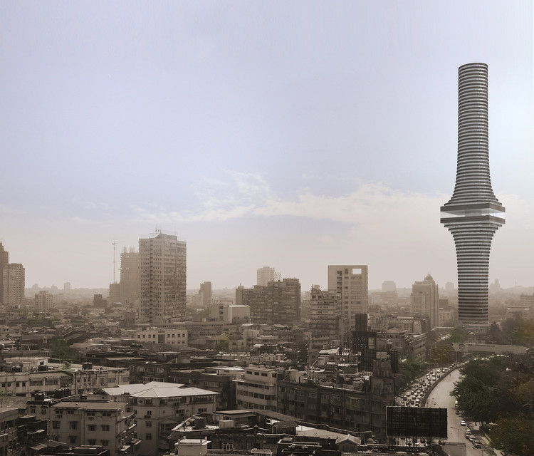 India Tower. Imagen © OMA