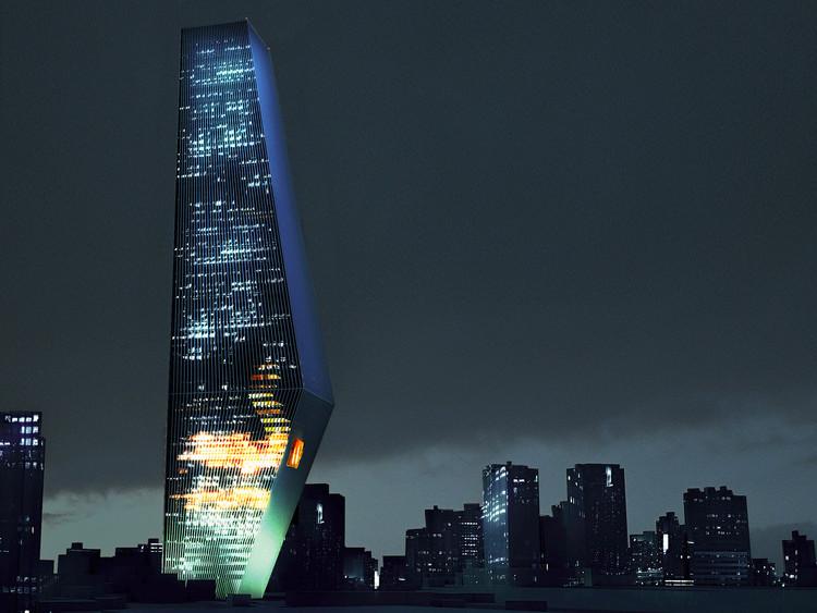Torre Bicentenario. Imagen © OMA