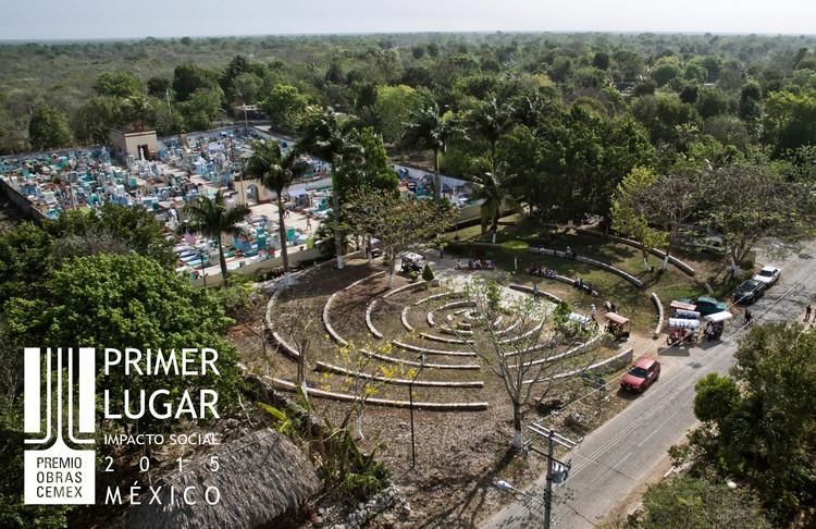 Primer lugar - Impacto Social (Edición nacional). Eco Pétreo / PLUG architecture. Imagen Cortesía de CEMEX.