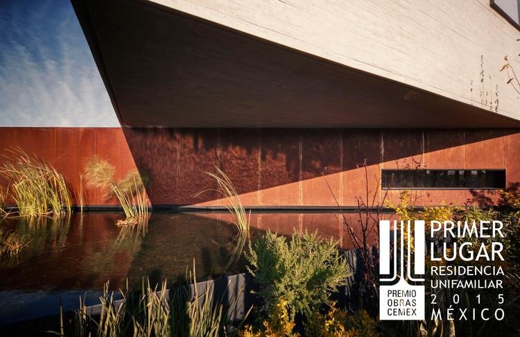 Primer lugar - Residencia Unifamiliar (Edición nacional). Casa Vargas / Isaac Broid. Imagen Cortesía de CEMEX.